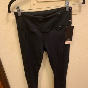 Never worn Calia cropped leggings